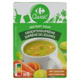 Carrefour Suprême de Légumes 4 x 15.9 g