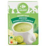 Carrefour Instant Soup Preisoep 4 x 16 g
