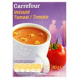 Carrefour Velouté Tomate 4 x 20 g