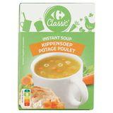Carrefour Instant Soup Kipsoep met Vermicelli 4 x 14 g