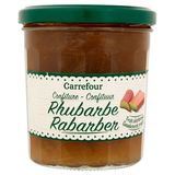 Carrefour Confiture Rhubarbe 370 g
