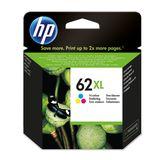 HP - Inktcartridge 62XL - Drie-kleuren C/M/Y