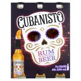 Cubanisto Rum Flavoured Beer Bouteilles 3 x 33 cl