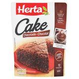 HERTA Pâte à Gâteau Cake Chocolat 500 g