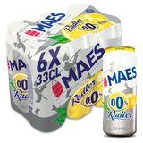 Maes Radler Citron 0.0% Boîtes 6x33cl