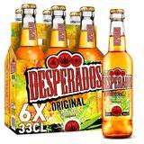 Desperados Bier Tequila 5.9% ALC Fles 6x33cl