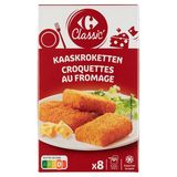 Carrefour 8 Croquettes au Fromage Fromage Fondant 400 g