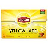 Lipton Thé Noir Yellow Label 20 Sachets