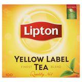 Lipton Zwarte Thee Yellow Label 100 Theezakjes
