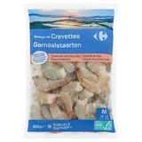 Carrefour Garnaalstaarten M Rauw Ongepeld 450 g