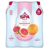 Spa Touch of Grapefruit Bruisend Gearomatiseerd Water PET 6 x 50 cl