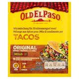 Old El Paso Mélange aux Épices pour Tacos Original Sweet Paprika & Chili Mild 25 g