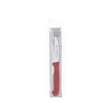 El Herder KG - Couteau EL.Herder avec manche rouge en nylon