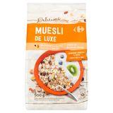 Carrefour Delicious Muesli de Luxe Gedroogde Vruchten & Noten 500 g