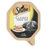 Aliment Chat Sheba Classics Barquette Terrine au Poulet 85 g