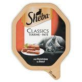 Aliment Chat Sheba Classics Barquette Terrine au Bœuf 85 g