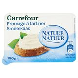 Carrefour Fromage à Tartiner Nature 150 g