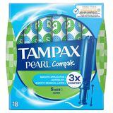Tampax Compak Pearl Super 18 Tampons