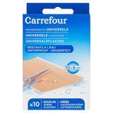 Carrefour Pansements Universels Résistants à l'Eau x 10