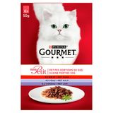Gourmet Mon Petit Kat Vlees 6 x 50 g
