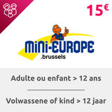 Mini-Europe: Billet adulte (+ 12 ans)