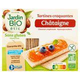 Jardin BiO ētic Tartines Craquantes Châtaigne 2 x 75 g