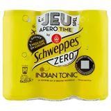 Schweppes Zero Indian Tonic 6 x 33 cl