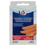 Carrefour Pansements Universels Résistants à l'Eau x 40