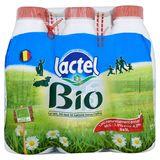 Lactel Bio Natuurlijke Volle Melk 6 x 1 L