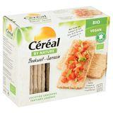 Céréal By Nature Bio Vegan Boekweit Luchtige Crackers 3 x 7 st