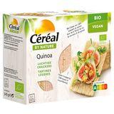 Céréal By Nature Bio Vegan Quinoa Luchtige Crackers 3 x 7 Stuks 145 g