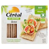 Céréal By Nature Bio Vegan Quinoa Luchtige Crackers 3 x 7 Stuks 145 g