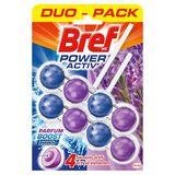 Bref WC Power Activ' Parfum Boost Lavende Duo Pack 2 x 50 g