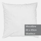 Tex Home Oreiller 65x65 cm Microfibre Moelleux