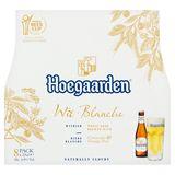 Hoegaarden Witbier Coriander & Orange Peel Flessen 8 x 25 cl