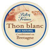 Reflets de France Thon Blanc au Naturel 160 g
