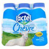 Lactel Lait de Chèvre Demi-Écrémé 1.5% M.G. 6 x 50 cl