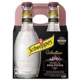 Schweppes Premium Mixer Tonic Pink Pepper 4 x 20 cl