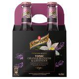 Schweppes Premium Mixer Tonic Orange Blossom & Lavender 4 x 20 cl