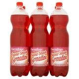 Carrefour Limonade Saveur Grenadine 6 x 1.5 L