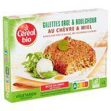 Céréal Bio Galettes Orge & Boulghour au Chèvre & Miel 2 x 100 g