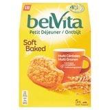 LU BelVita Petit Déjeuner Soft Baked Multi Céréales 250 g