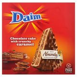 Almondy Daim Chocolate Cake with Crunchy Caramel 400 g
