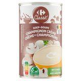 Carrefour Classic' Soep Champignon Crème met Stukjes 470 g