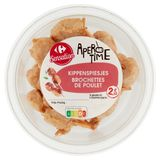 Carrefour Apero Time Mini Brochettes de Poulet 100 g