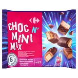 Carrefour Choc n' Mini Mix Chocolat au Lait 450 g
