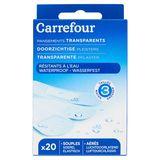 Carrefour Pansements Transparents Résistants à l'Eau x 20