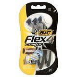 Bic Flex 4 Comfort Scheermes 3 Stuks
