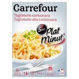 Carrefour Plat Minut' Tagliatelle Carbonara 300 g