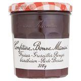 Bonne Maman Confiture Aardbeien - Rode Bessen  370 g